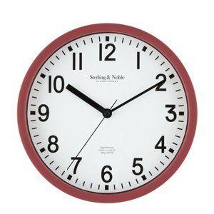 MainStay Sterling & Noble Analog Quartz Wall Clock